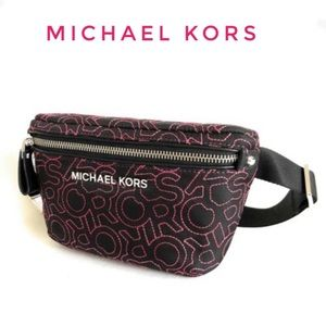 New Michael Kors fanny pack bag Nylon purse
